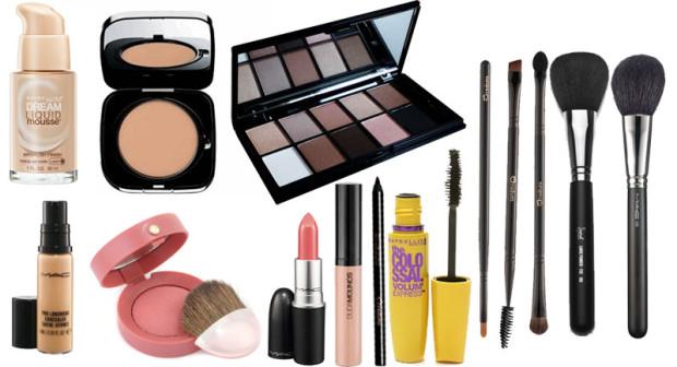 Resultado de imagem para itens basicos de maquiagem