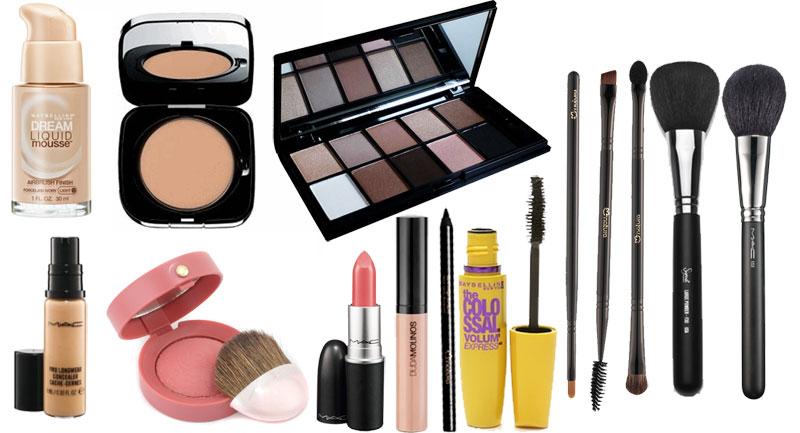 Resultado de imagem para kit de maquiagem