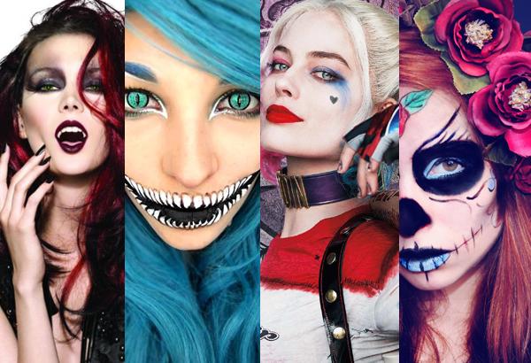 Maquiagem de Halloween confira ideias e gaste pouco.