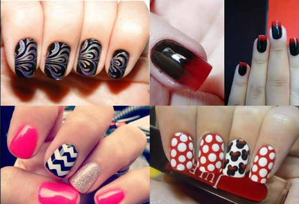 Unhas decoradas fashion