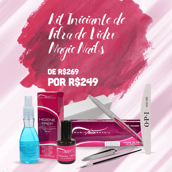 Kit  Iniciante Magic Nails