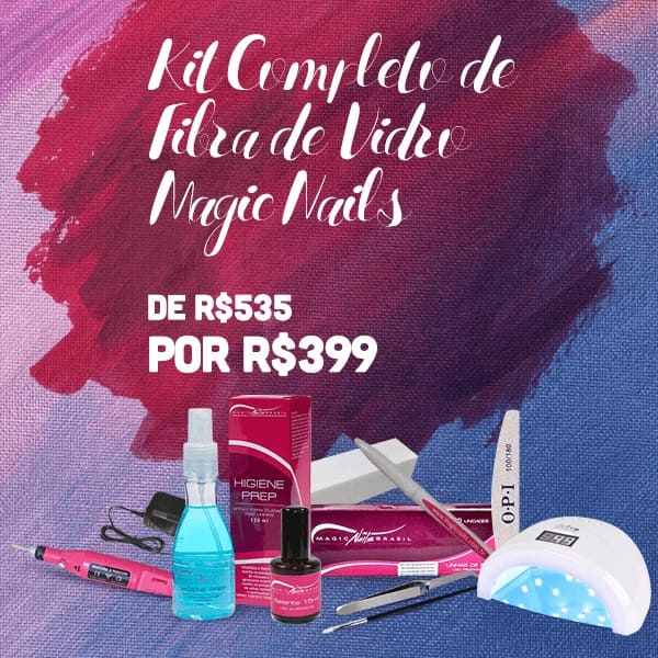 Kit Completo Magic Nails