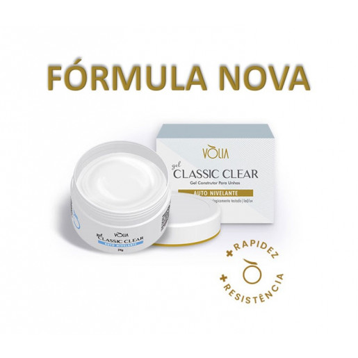 Gel Classic Clear Volia 24g