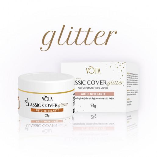 Gel Classic Cover Glitter Vòlia 24g