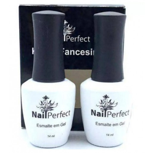 Kit Francesinha Esmaltes Nail Perfect